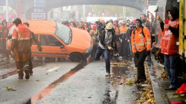 D'importants dégâts et de nombreux blessés parmi les forces de l'ordre après la manifestation nationale du 6 novembre.