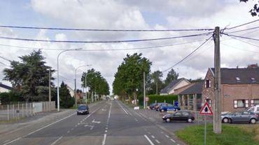 La RN51 à Quiévrain