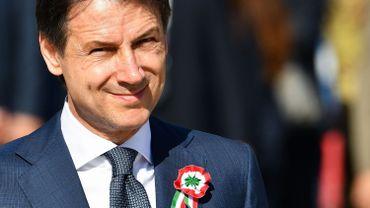 Le nouveau chef du gouvernement italien Giuseppe Conte.