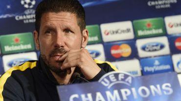 "C1 - Atletico-Barcelone: ""Une opposition de styles"" (Simeone)"