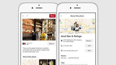Pinterest est utilisé par de nombreuses marques qui y mettent des photos de leurs produits pour tenter d'attirer des clients.