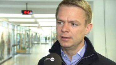Le secrétaire d'Etat à la Fonction publique CD&V Hendrik Bogaert