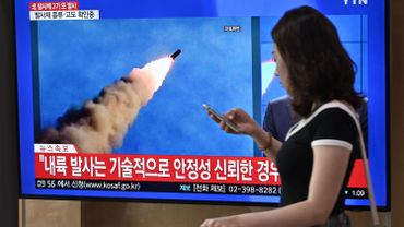 """La Corée du Nord tire des """"projectiles non identifiés"""""""