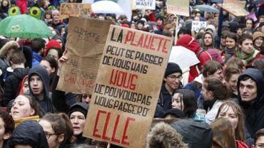 """Marche pour le climat: """"le mouvement est maintenant instoppable"""" selon Greenpeace"""