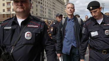 Mondial 2018: arrestation d'un activiste gay britannique à Moscou