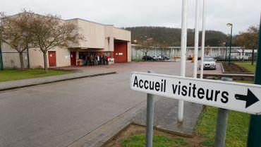 Action à la prison d'Andenne