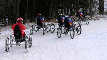 Piloter un quadricycle tout terrain à Font-Romeu dans les Pyrénées.