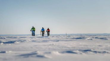La traversée du Lac St-Jean en Fatbike, une aventure givrée pour De Dorlodot