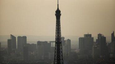 La Tour Eiffel, le 14 juillet 2013