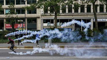 """Débordements après la manifestation contre le racisme à Bruxelles: 239 arrestations, """"des délinquants qui seront poursuivis"""""""