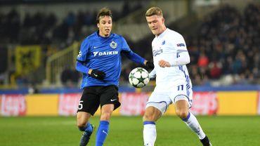 Le Club Bruges renvoie Tomas Pina définitivement en Espagne