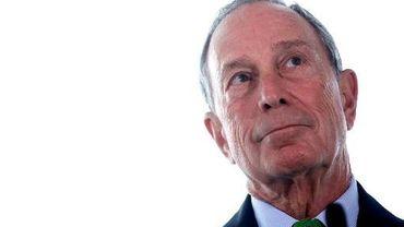 Michael Bloomberg, alors maire de New York, en conférence de presse le 24 septembre 2013 à Londres