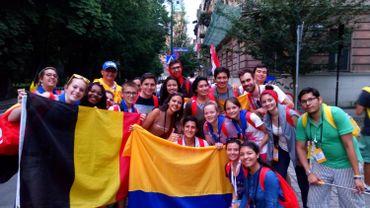 Les jeunes catholiques à Cracovie