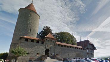Le Château de Romont et  son Vitromusée.