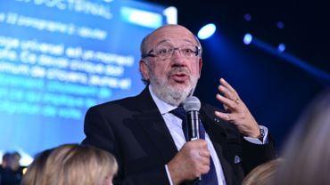 L'eurodéputé Louis Michel pendant le congrès du MR en Novembre dernier à Ciney