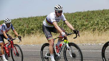 Le champion du monde Mads Pedersen espère un Paris-Roubaix humide