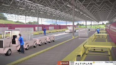 Le projet railport tel qu'il sera présenté