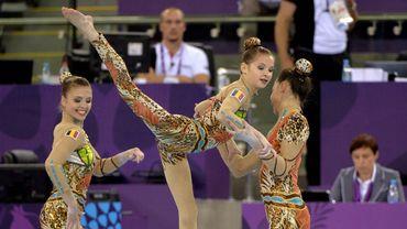 Six médailles de plus pour les Belges à l'euro de gym acrobatique