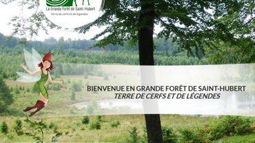 On vient d'inaugurer sur le territoire de la commune de Libin un nouvel itinéraire de randonnée.