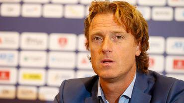 Dick Norman, le directeur du tournoi de tennis d'Anvers