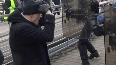 L'ex-boxeur est soupçonné d'avoir agressé deux gendarmes. Ici, une capture d'écran de la vidéo.