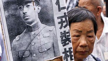 La guerre  sino-japonaise a laissé des cicatrices dans la population chinoise.