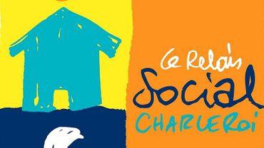 Le logo du Relais Social de Charleroi