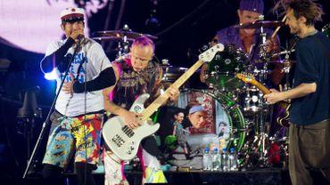 Les Red Hot Chili Peppers en apothéose de Rock Werchter samedi