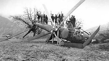 Un hélicoptère soviétique abattu en Afghanistan