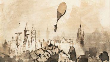 """""""Départ du ballon"""" par Victor Hugo"""