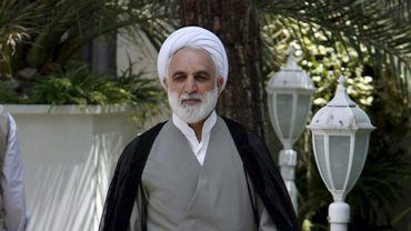 Gholam Hossein Mohseni-Ejeie, le porte-parole de l'autorité judiciaire iranienne ici le 8 août 2007 à Téhéran, avait indiqué dimanche que les quatre journalistes avaient été condamnés, sans préciser leurs peines.