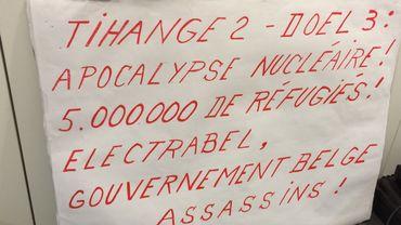 Une association anti-nucléaire plaide au tribunal l'arrêt de Doel 3 et Tihange 2