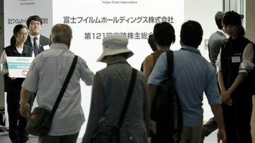le bénéfice du groupe japonais de technologie et de l'image, Fujifilm, a plus que triple à l'issue du premier trimestre 2017-2018