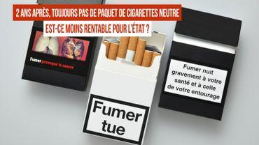 Paquet de cigarettes neutre en Belgique : pas d'actualité car l'État craint des pertes financières ?