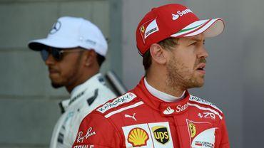 Vettel et Hamilton