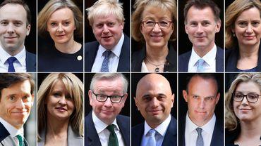 Les prétendants déclarés ou possibles au poste de Premier ministre britannique