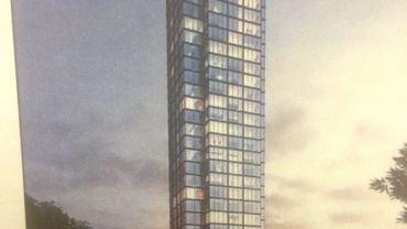 Le collège de la ville de Wavre a donné son feu vert au projet de construction d'une tour-hôtel de 120m de haut, à Bierges, le long de l'E-411