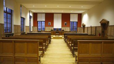 Une salle de justice