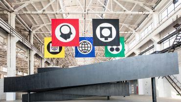 """Matt Mullican """"Untitled"""", une oeuvre de la section des espaces publics de l'événement West Bund Art & Design."""