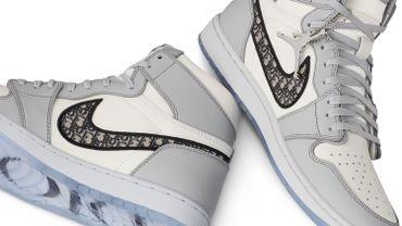 Les baskets issues de la collaboration entre Air Jordan et Dior ont fait l'unanimité sur la toile, et chez les sneakers addicts.