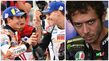 Marquez égale Doohan, Rossi au tapis, Quartararo rookie de l'année