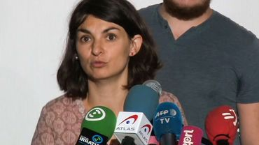 Aurélie Trouvé, porte-parole du contre-sommet 'Alternative G7'