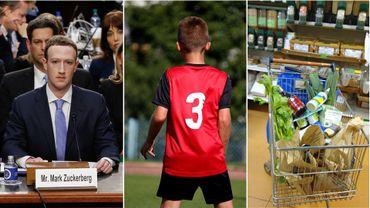 Mark Zuckerberg, les blessures dans le sport chez les jeunes et les magasins coopératifs dans la Semaine Viva