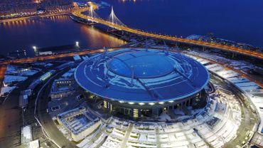 Le stade du Zenit où aura lieu la finale de la Coupe des Confédérations