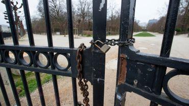 Fermeture de parcs de la Région bruxelloise