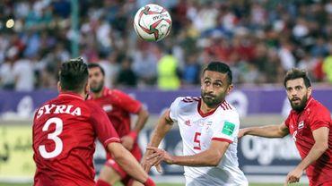 L'international iranien Omid Ebrahimi prêté à Eupen pour une saison