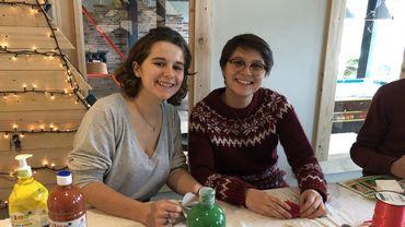 Oriane et Clémentine proposent un noël 100% récup'