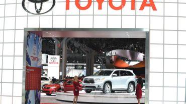 Bénéfice net record pour Toyota en 2013-2014: 13,6 milliards d'euros