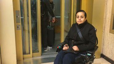 Les ascenseurs de la Gare centrale trop souvent en rade pour les personnes en chaise roulante