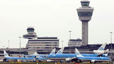 Schiphol, l'aéroport d'Amsterdam, le 7 mars 2008